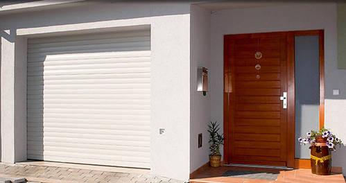 rolltor garagentor mit antrieb und funk. Black Bedroom Furniture Sets. Home Design Ideas
