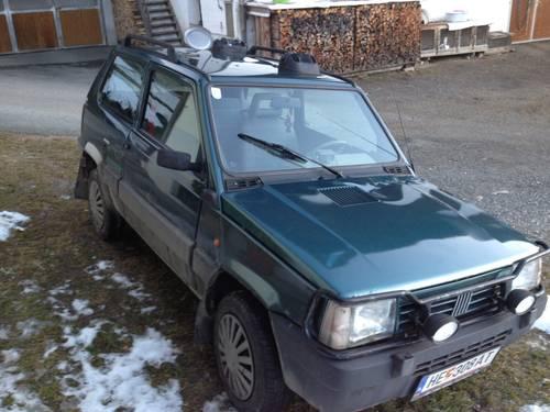 Fiat panda 4x4 sisley for Fiat panda 4x4 sisley usata