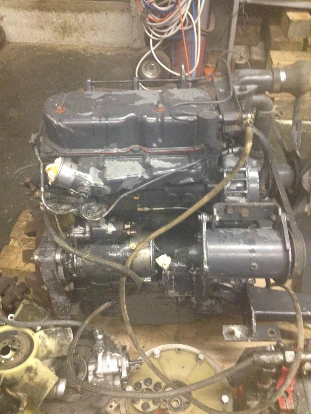 3 Zylinder Perkins Motor