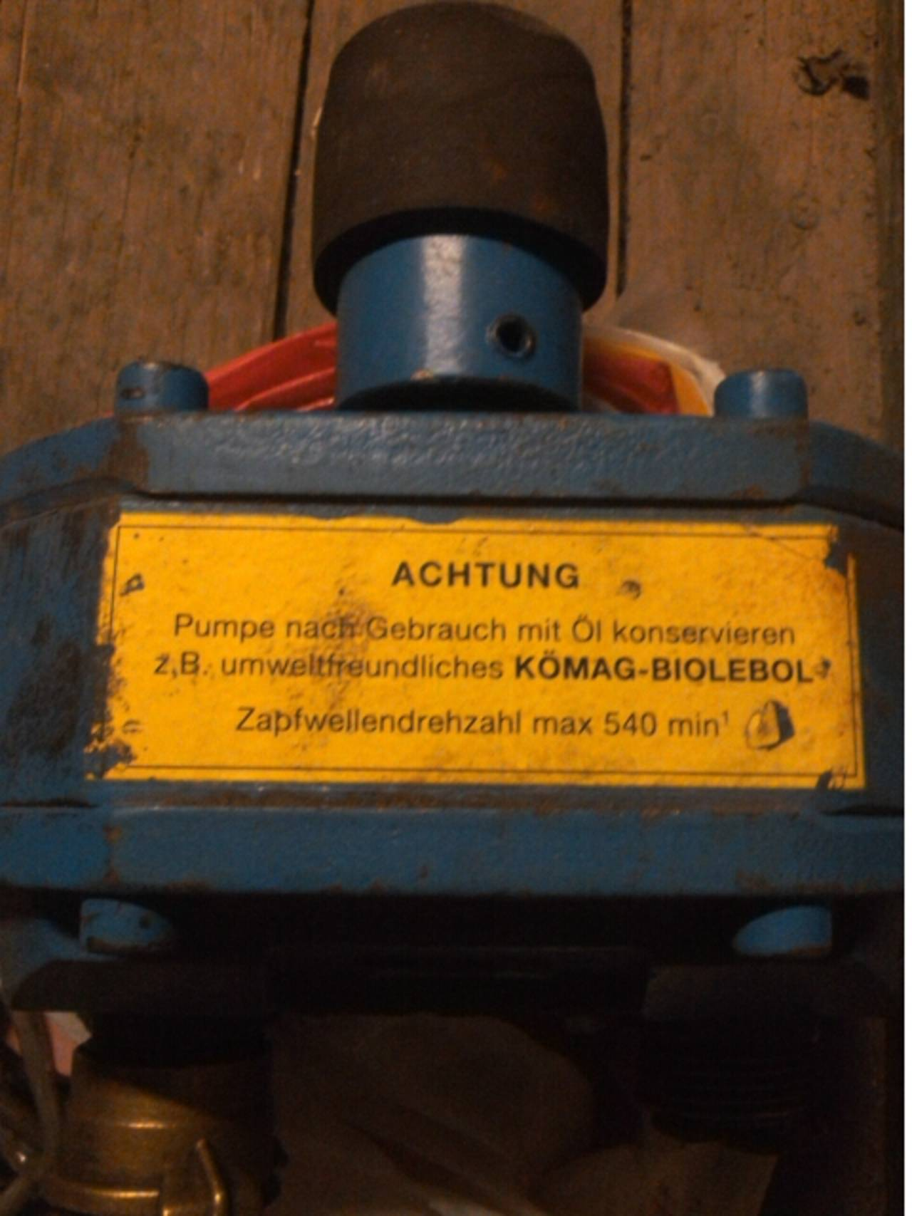Top Wasserpumpe für Zapfwelle, Traktor &ZL_91