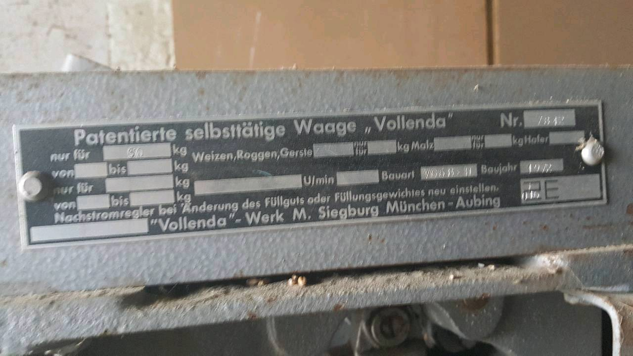 Kippwaage Volenda