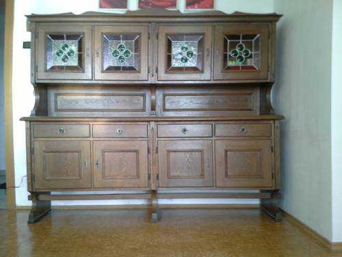sch ner alter bauernschrank. Black Bedroom Furniture Sets. Home Design Ideas