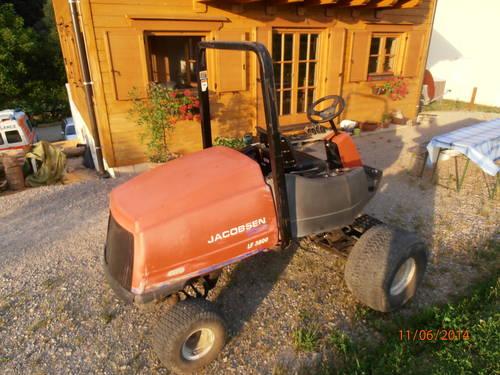 Traktor Mäher