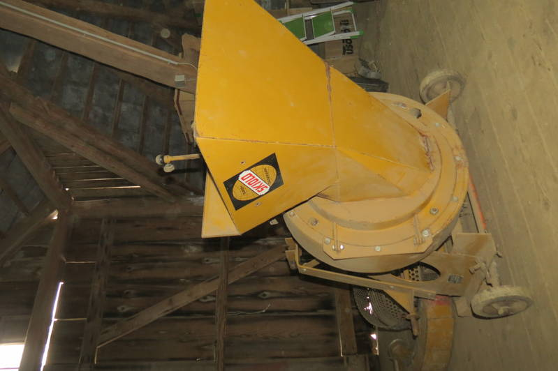 Zapfwellenbetriebene Hammermühle SKIOLD