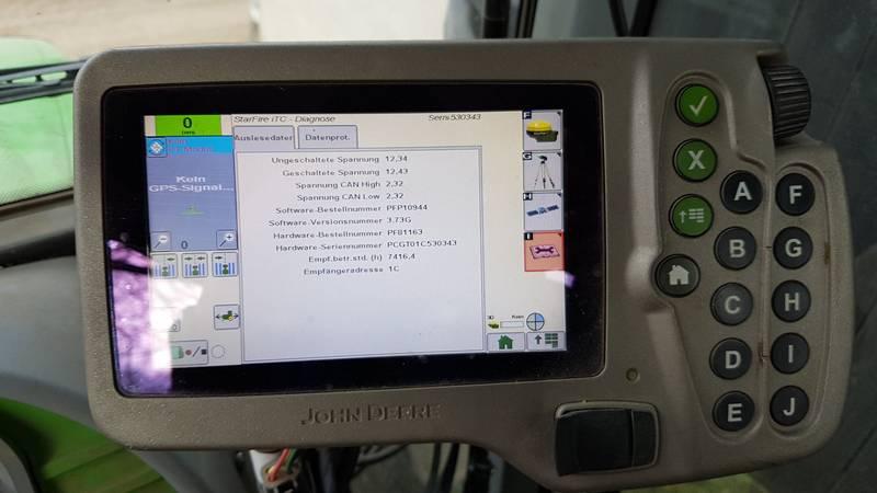 Atemberaubend John Deere GPS Lenksystem mit ITC Antenne &UQ_24