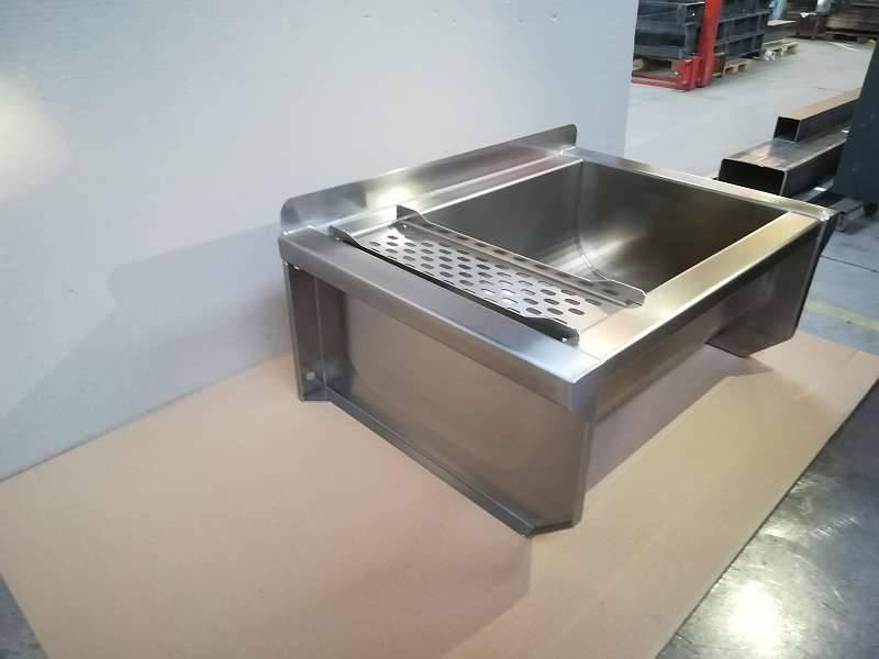 Sonstige Werkstatteinrichtung Edelstahl Waschbecken