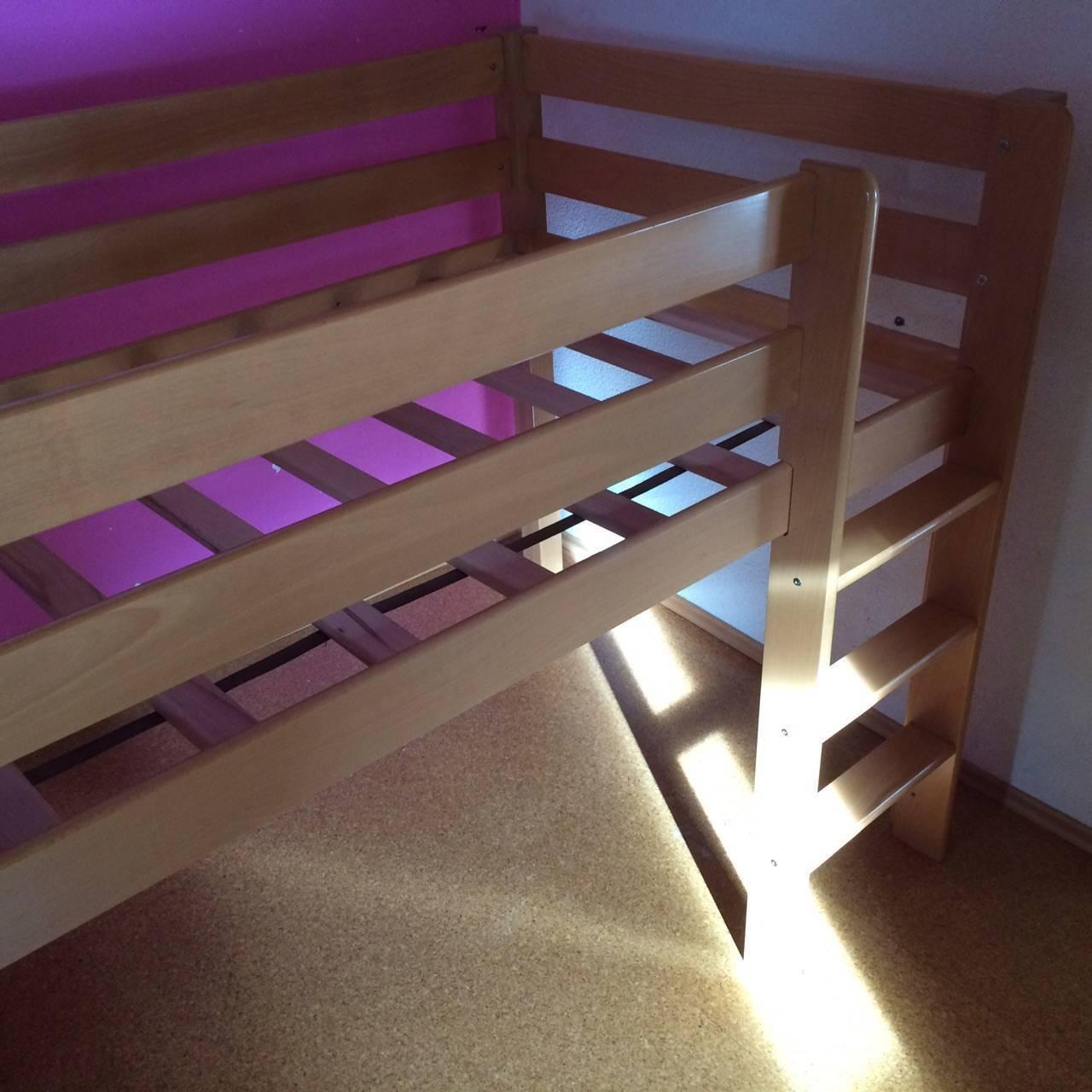 hochbett f r kinder. Black Bedroom Furniture Sets. Home Design Ideas