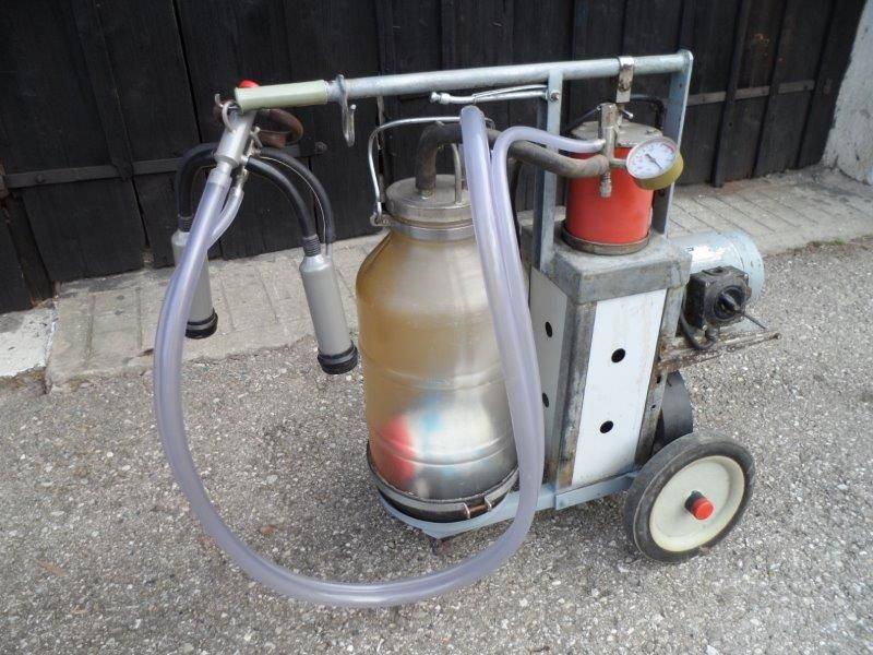 Melkmaschine für Ziegen