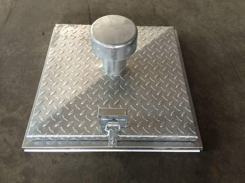 brunnenschachtdeckel 600x600 mm inkl l ftung hausbrunnen. Black Bedroom Furniture Sets. Home Design Ideas