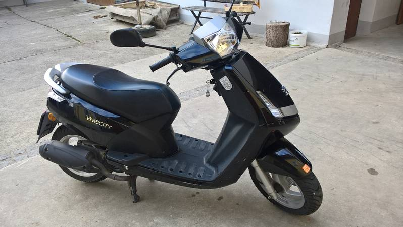 Sonstige Moped/Motorräder: Peugeot Roller 50 ccm gebraucht