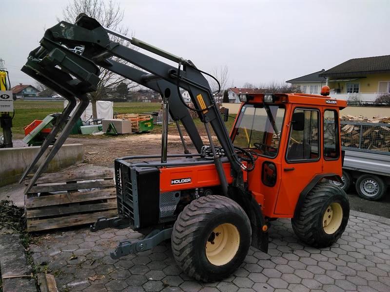 Frontlader Zubehör Traktor : Holder c 560 mit frontlader und zubehör