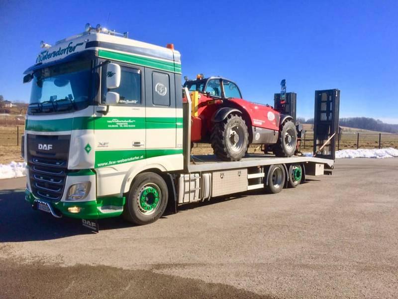 Ganz und zu Extrem Transporte aus Oesterreich &FO_16
