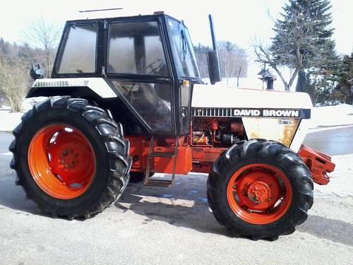 David Brown 1490 Traktoren Prospekt