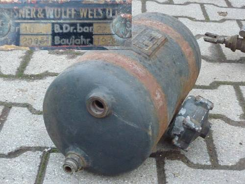 1L- Bremsventil und Hochdruckkessel