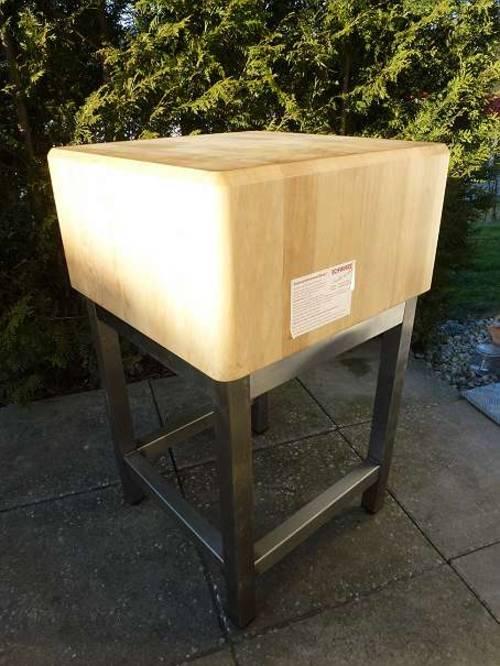 fleischstock fleischklopfer holzbock hackblock hackklotz. Black Bedroom Furniture Sets. Home Design Ideas