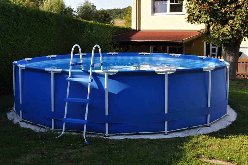 Intex pool mit sandfilteranlage for Aufblasbarer pool mit sandfilteranlage