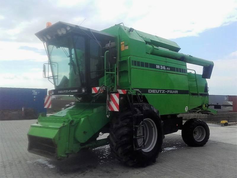 deutz fahr 3640 drescher Deutz-Fahr Parts New Deutz Tractors