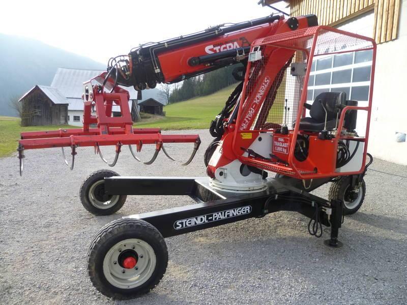 Heutechnik Heukran Stepa Mobil Fahrbar Mk40 10 A3 Gebraucht Kaufen Landwirt Com