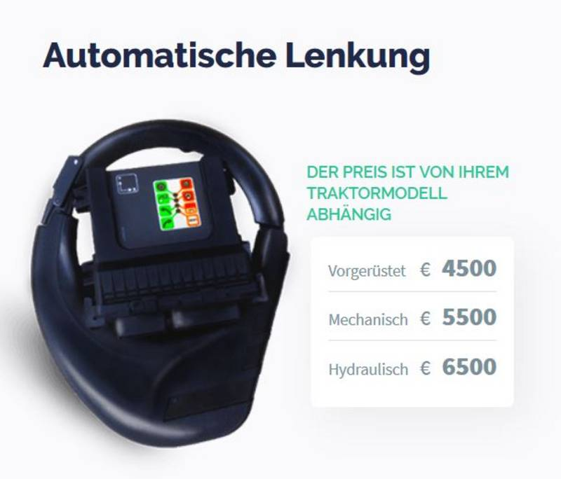 Geliebte eFarmer GPS - RTK Lenksystem - Selbst testen möglich &QR_43