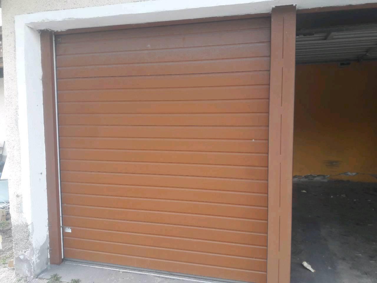 garagentor, elektrisch, 2 stück