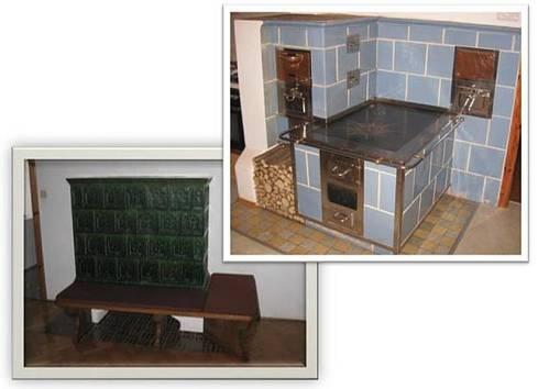gemauerter k chenherd kachelofen. Black Bedroom Furniture Sets. Home Design Ideas