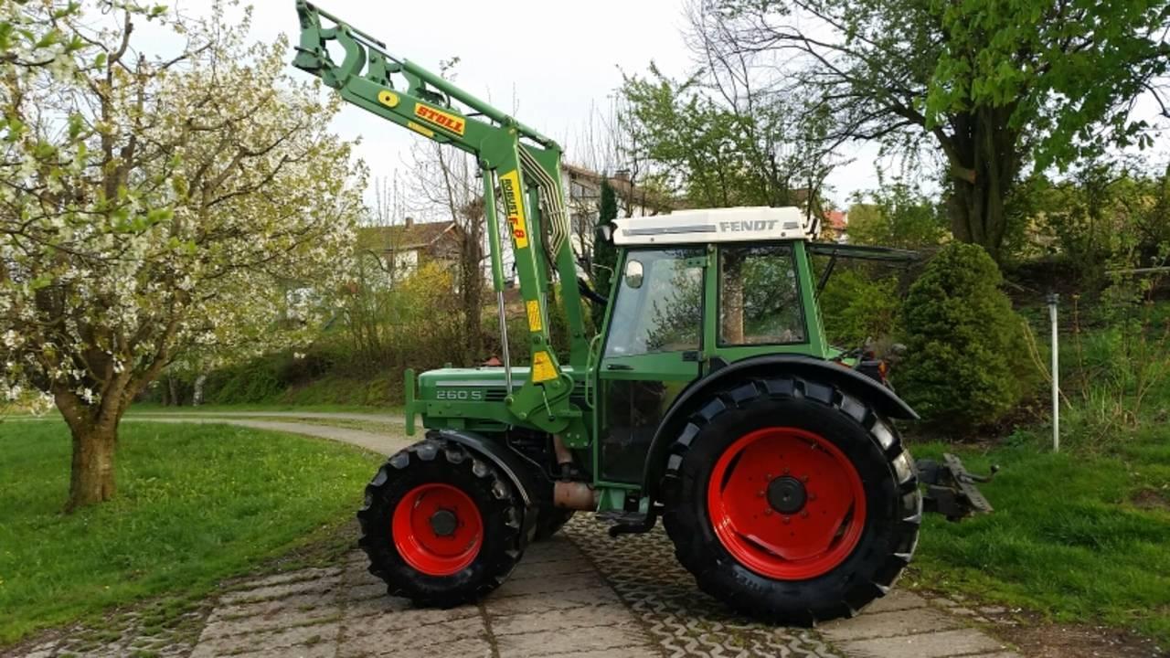 Traktor Schlepper Fendt 250 S Allrad Frontlader