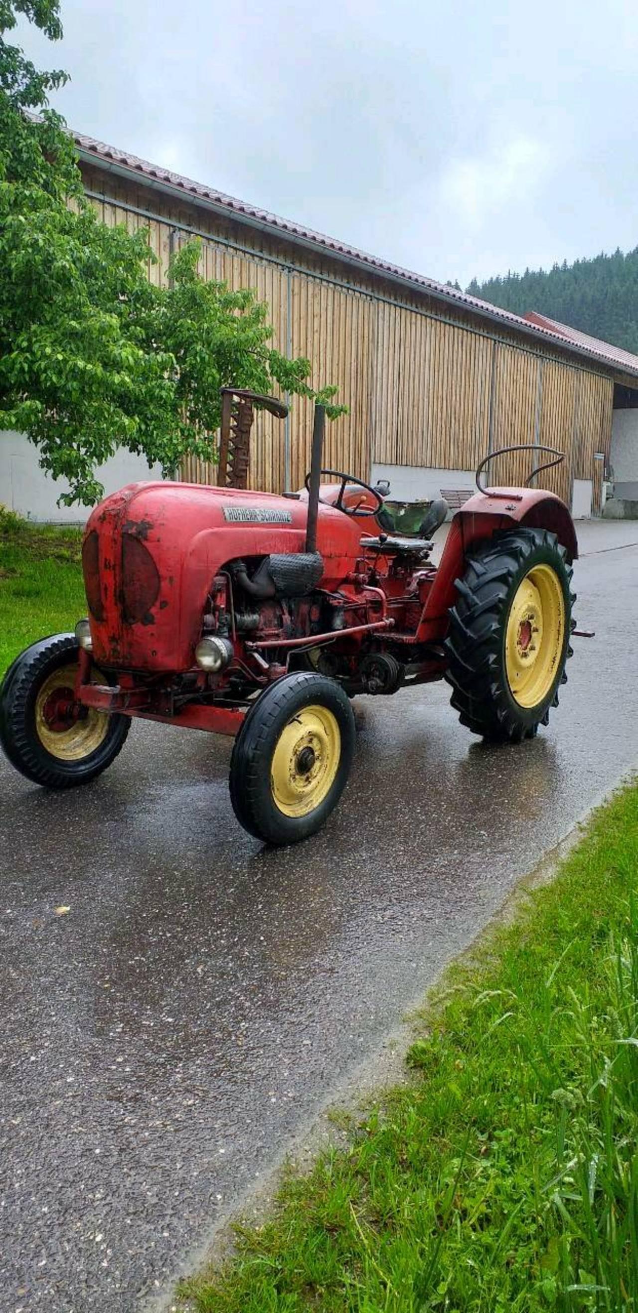 Porsche diesel traktor