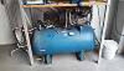 kompressor agre 200 l 16 bar in funktion. Black Bedroom Furniture Sets. Home Design Ideas