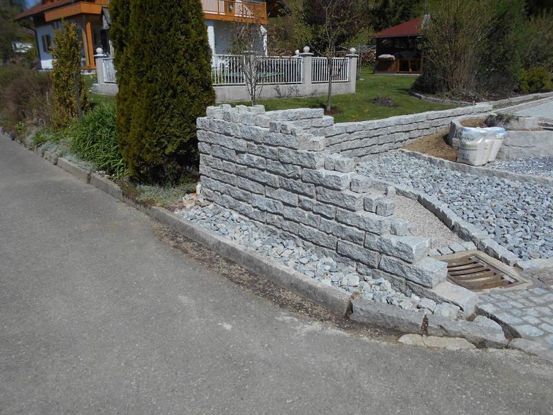 granitstein leisten mauerstein granit 10 x 20 x 40 cm. Black Bedroom Furniture Sets. Home Design Ideas