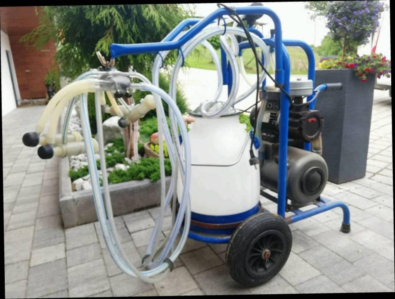 Melktechnik: Melkmaschine für Ziegen gebraucht kaufen