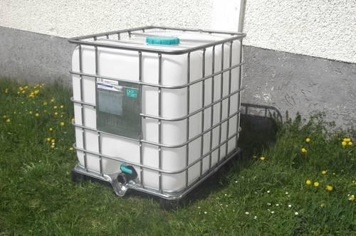 ibc container tank trinkwasser wasserfass lebensmittelecht. Black Bedroom Furniture Sets. Home Design Ideas