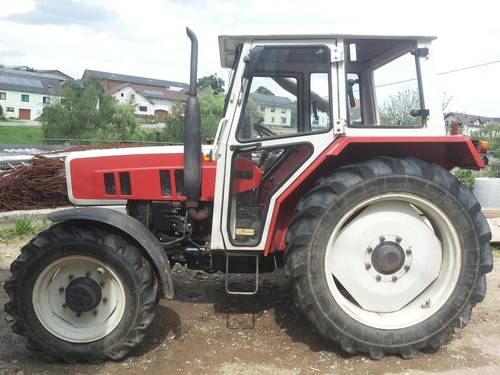 traktor steyr 8055 zu verkaufen. Black Bedroom Furniture Sets. Home Design Ideas