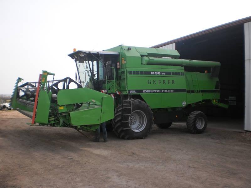 deutz fahr 3640 drescher Deutz-Fahr Agro XXL New Deutz Tractors