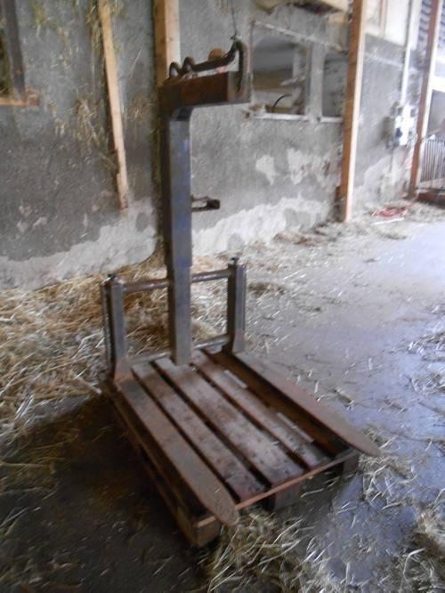 palettengabel f r kran. Black Bedroom Furniture Sets. Home Design Ideas