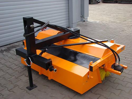 kehrmaschine f r stapler und traktor neu