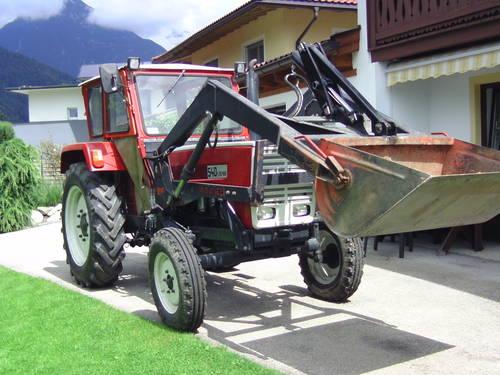 Steyr 540 mit frontlader