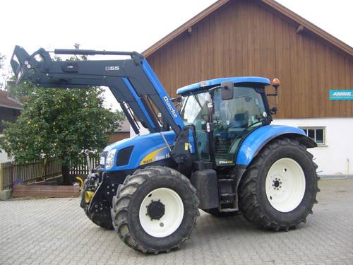 Verkaufe new holland t elite frontlader traktor schlepper