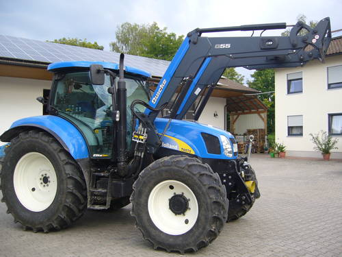 verkaufe new holland t 6070 elite frontlader traktor schlepper. Black Bedroom Furniture Sets. Home Design Ideas