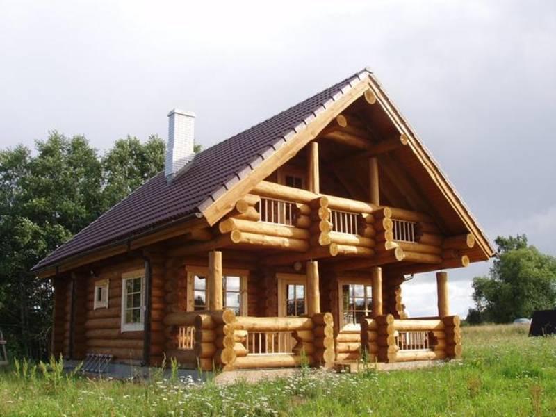 Blockhaus holzhaus rundholz 90 m for Holzhaus blockhaus
