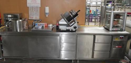 Edelstahl Geräte Niro Küche Industrie Gastro
