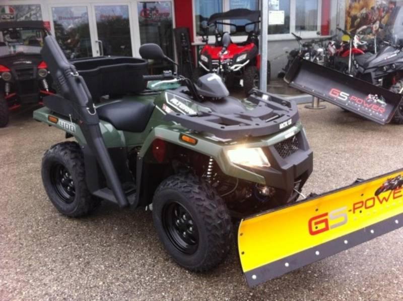 Beliebt Bevorzugt Quad ATV 4x4 - optimal f. Landwirtschaft, Jagd, Winterdienst &KM_86