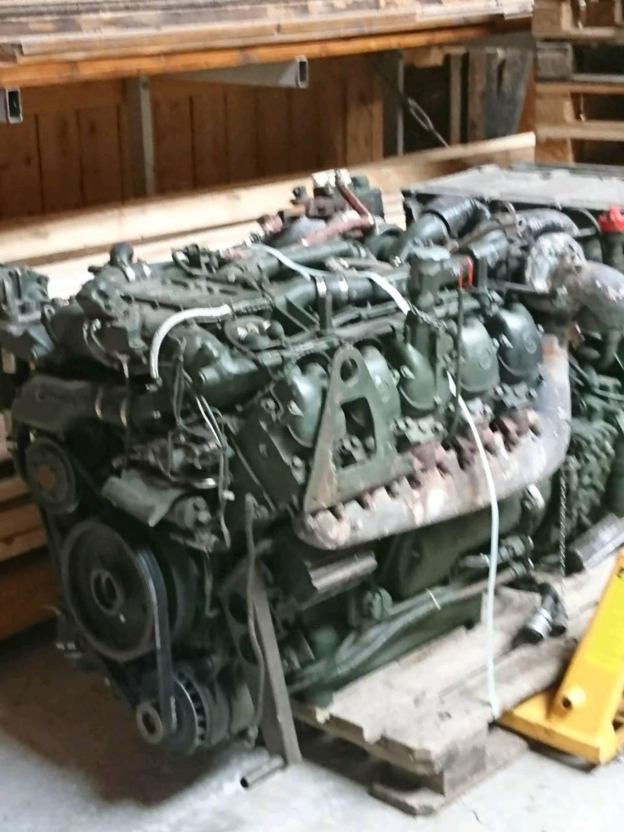 Mercedes Motor OM 403