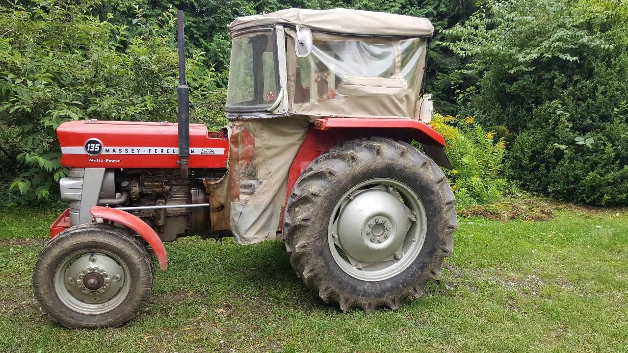 traktor mf 135 multipower. Black Bedroom Furniture Sets. Home Design Ideas