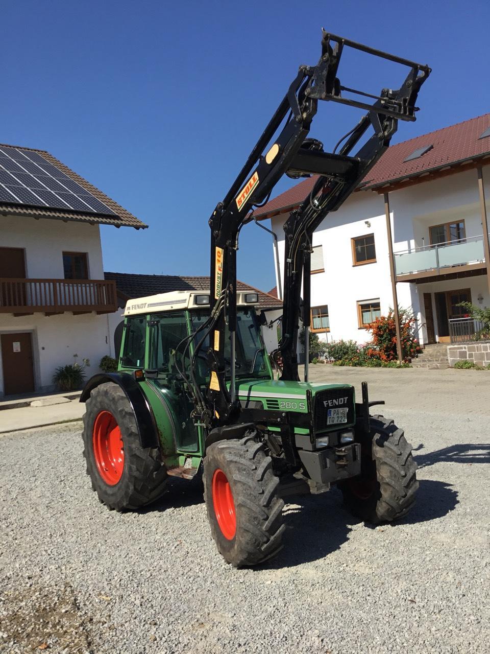fendt traktor 80 ps allrad frontlader gebraucht kaufen