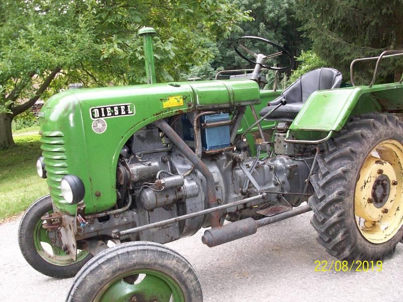Steyr Traktor T80 - Bj  1958