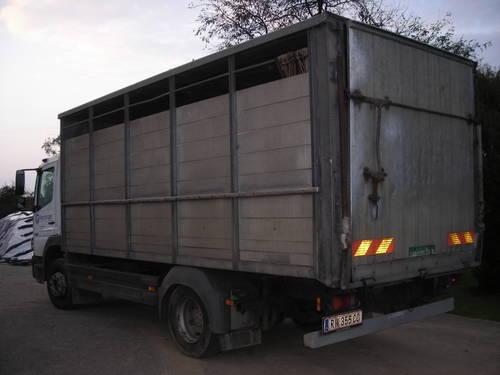 Ganz und zu Extrem Verkaufe VIEHTRANSPORTER Mercedes Atego 1223 &RG_67