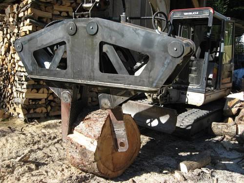 Super Verkaufe Holzspalter für Bagger #CN_41