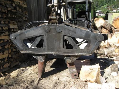 Geliebte Verkaufe Holzspalter für Bagger &VM_37