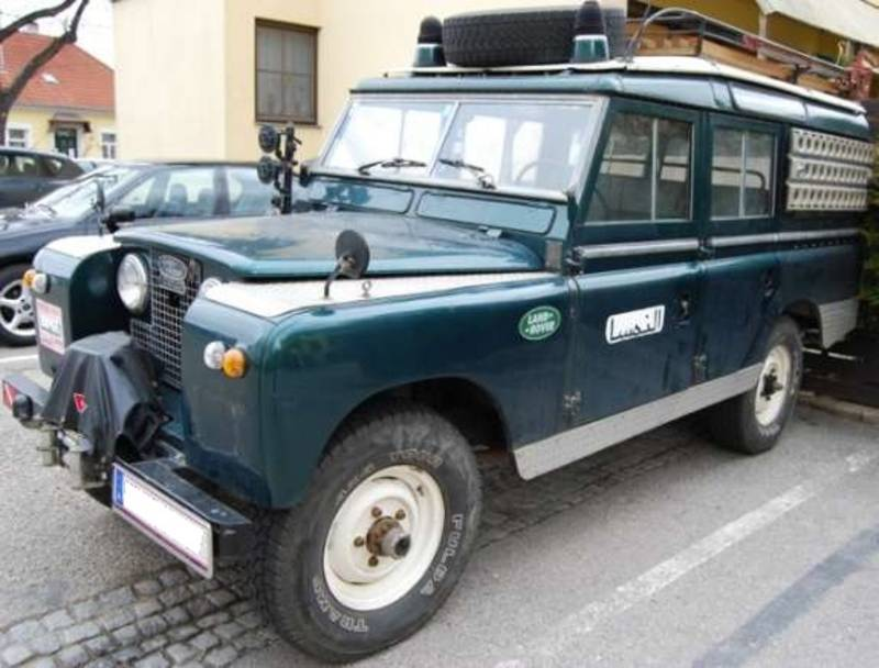 land rover oldtimer station wagon 4x4 serie ii suv. Black Bedroom Furniture Sets. Home Design Ideas