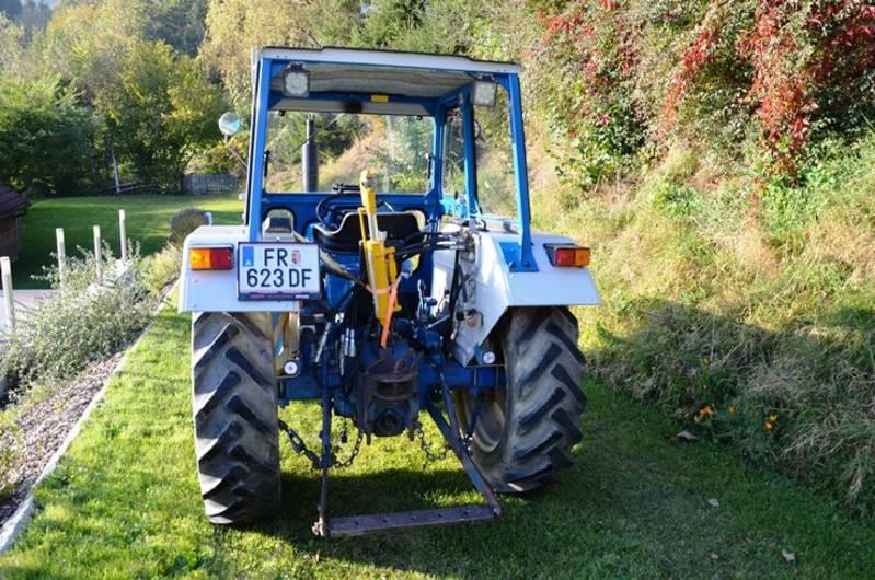 Atemberaubend Ford Traktor 2600, mit Mähwerk und Hydraulikoberlenker @WW_91